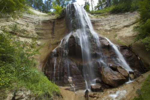 Plunge into a waterfall adventure