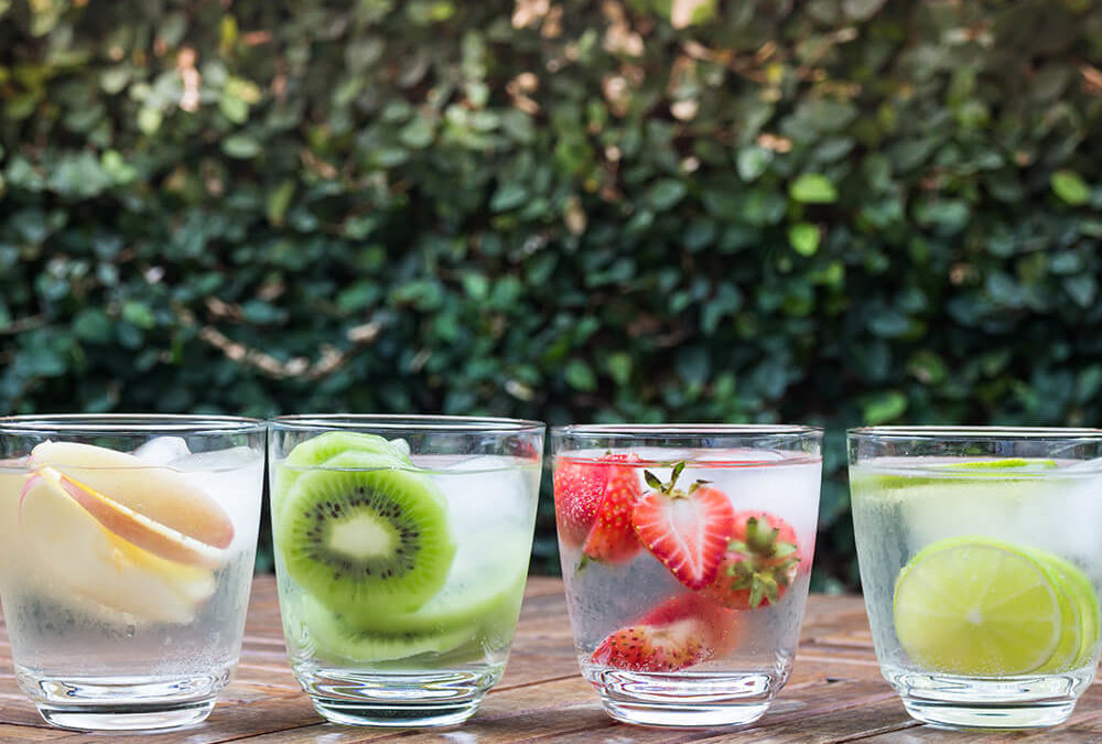 Flavored Water Infused With Health Benefits