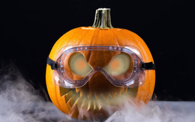 Bone-chilling Halloween Decorations Start with Dry Ice