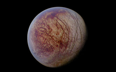 Eureka! There's Water in Europa!